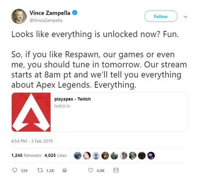 apex pre launch