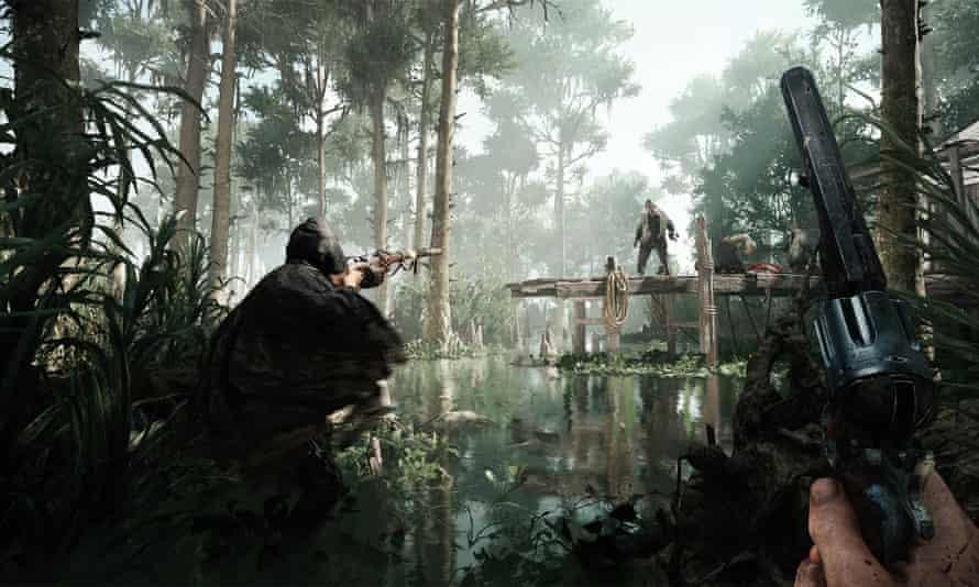 hunt showdown gameplay