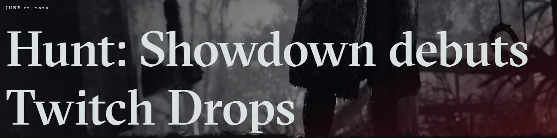hunt showdown twitch